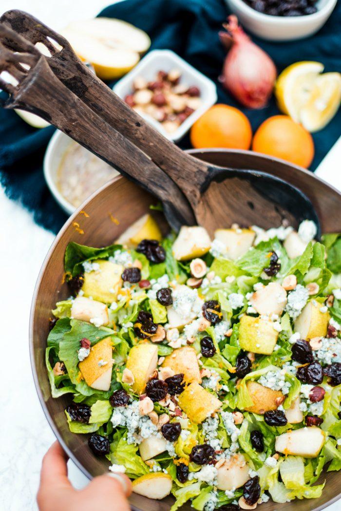Pear Lettuce Salad