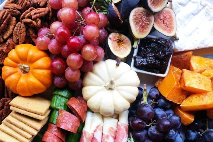 Pumpkin Spice Butternut Squash Charcuterie Board - autumn