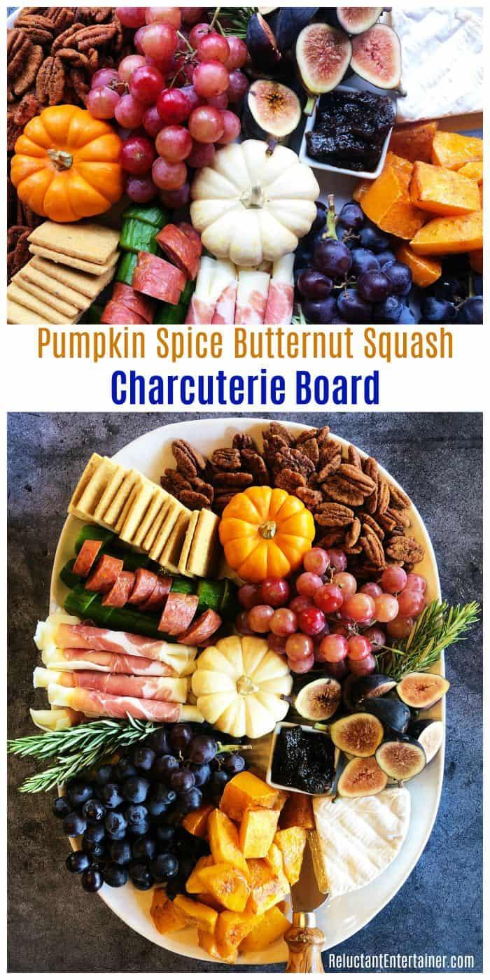 Pumpkin Spice Butternut Squash Charcuterie Board Recipe