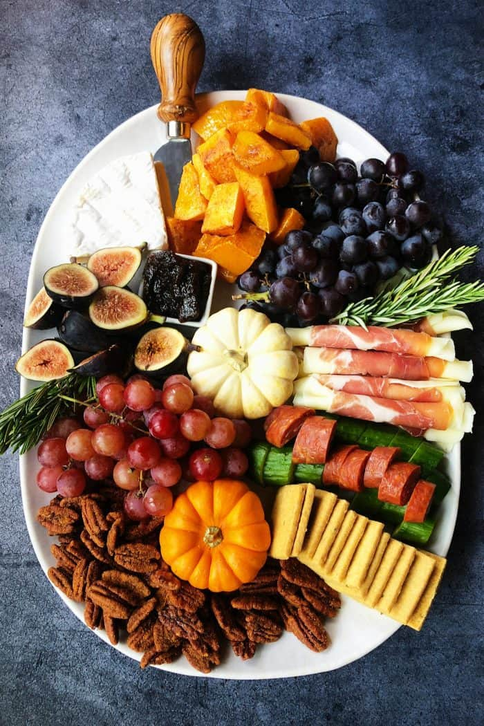 BEST Pumpkin Spice Butternut Squash Charcuterie Board