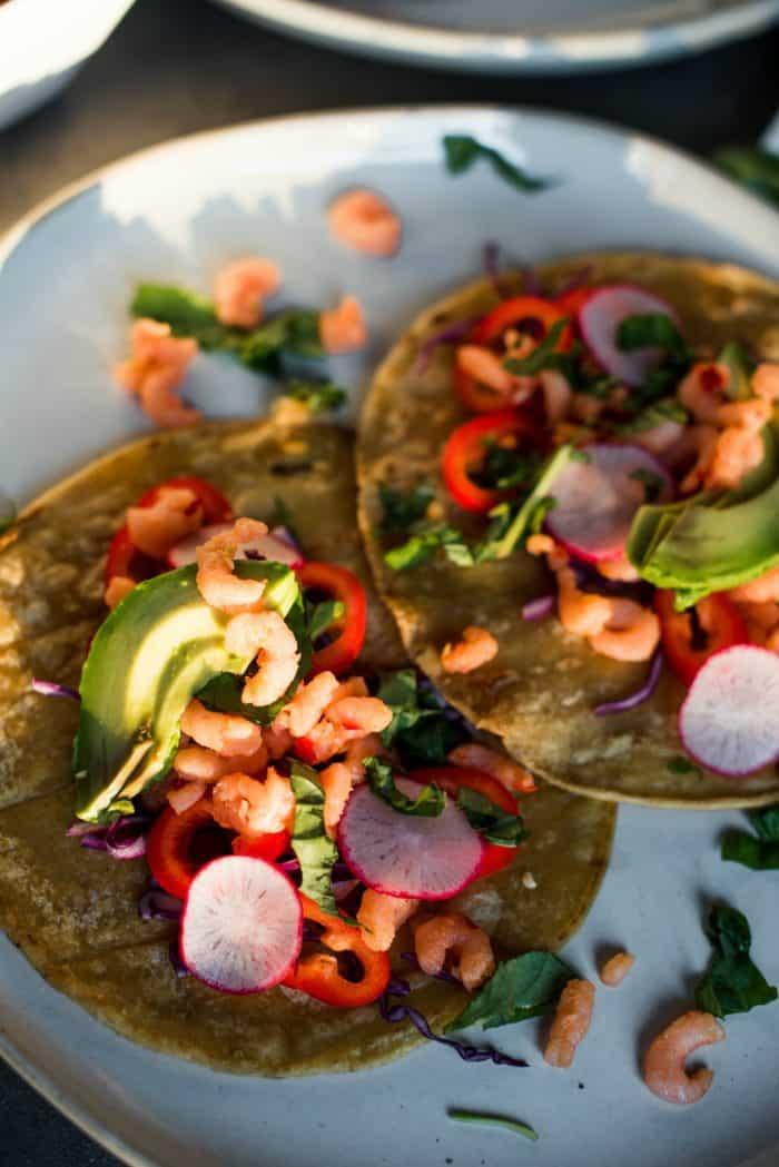 Fabulous Sweet Chili Shrimp Tacos