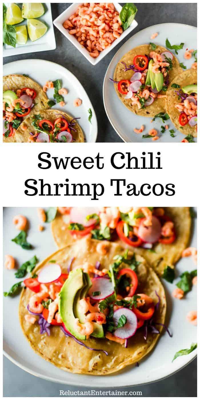 Sweet Chili Shrimp Tacos Recipe