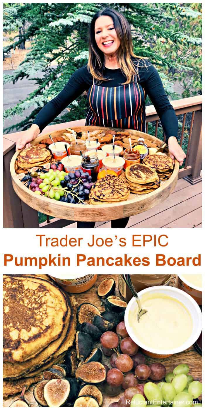 Trader Joe's EPIC Pumpkin Pancakes Board Recipe