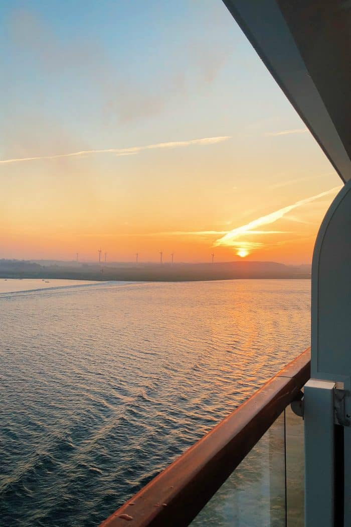 Viking Homelands Ocean Cruise - sunrise