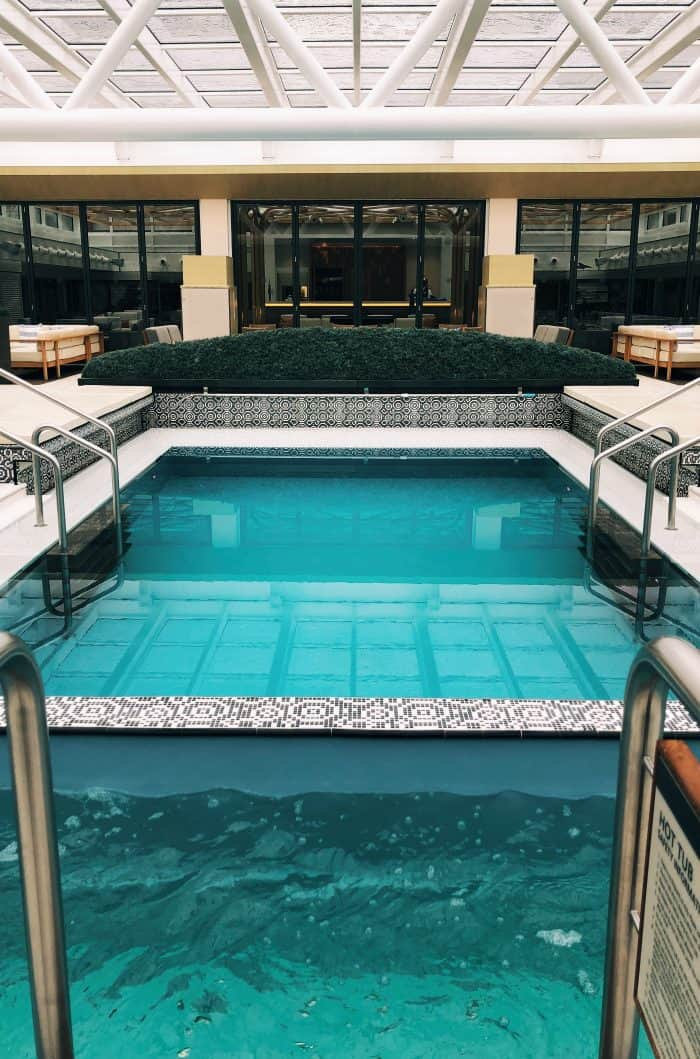 Viking Homelands Ocean Cruise - indoor pool