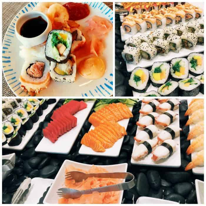 Viking Homelands Ocean Cruise - sushi