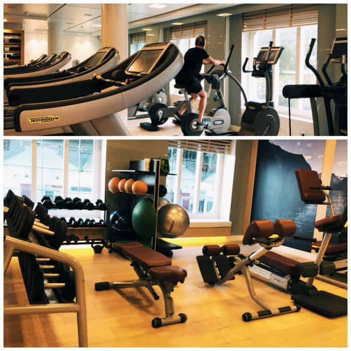 Viking Homelands Ocean Cruise - fitness room