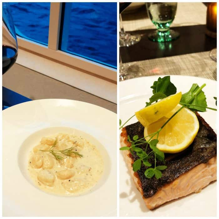Viking Homelands Ocean Cruise - food