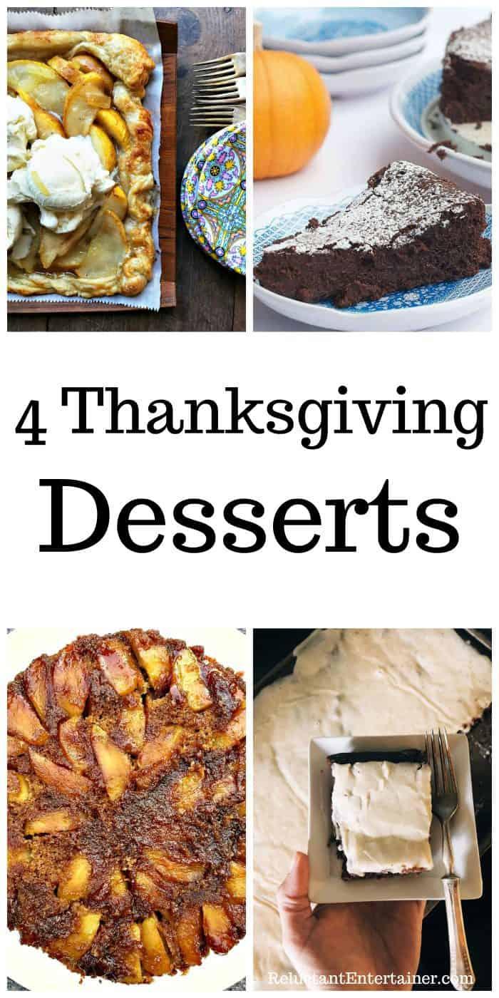 4 Thanksgiving Desserts