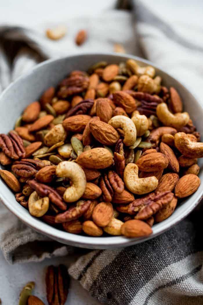 Cinnamon Orange Roasted Nuts
