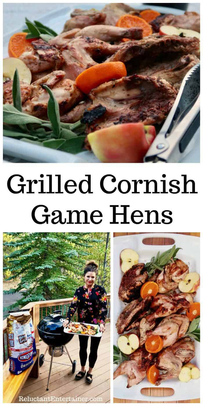 Grilled Cornish Game Hens Recipe