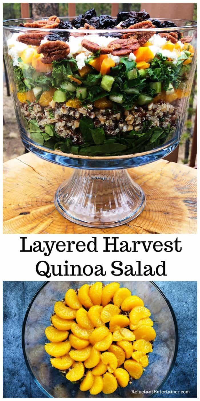 Layered Harvest Quinoa Salad Recipe