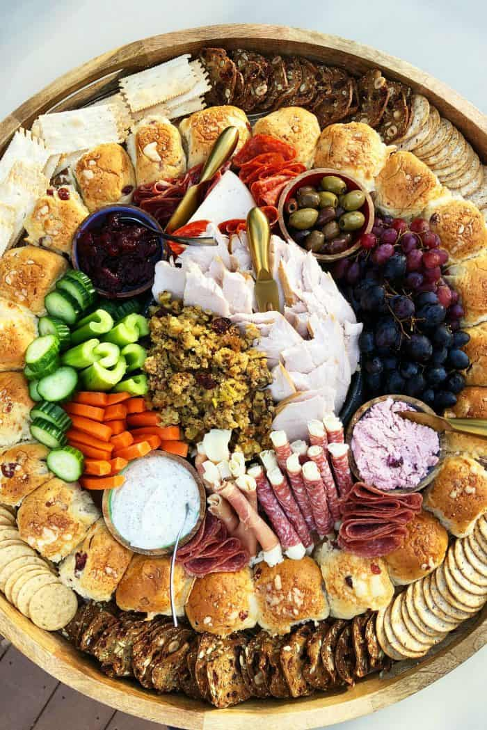 Thanksgiving Epic Charcuterie Board