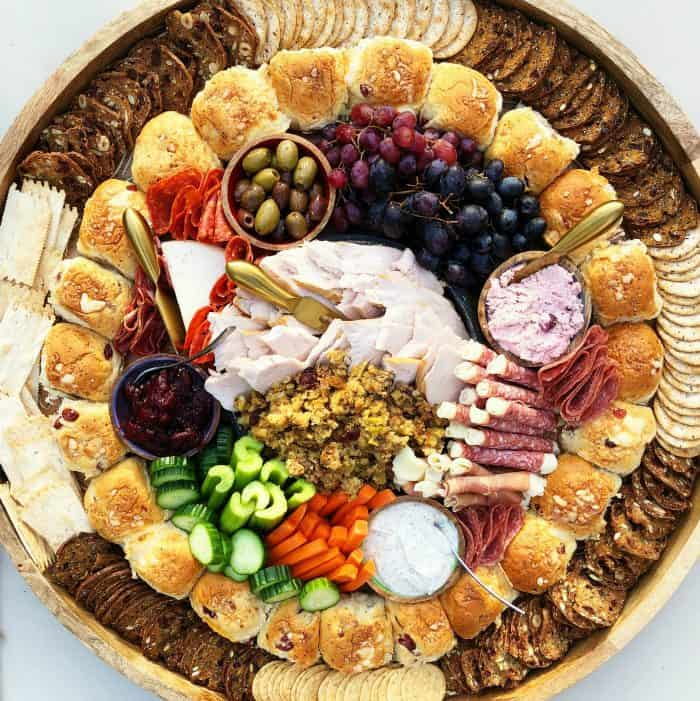 Delicious Leftover Thanksgiving Epic Charcuterie Board