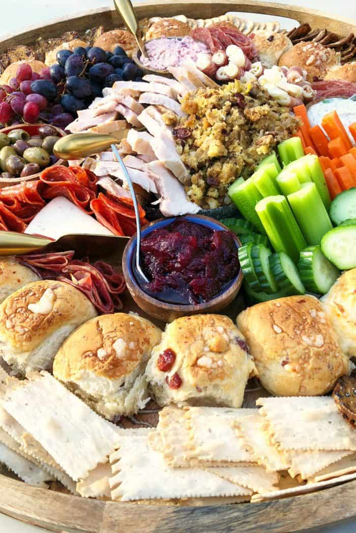 Tasty Leftover Thanksgiving Epic Charcuterie Board