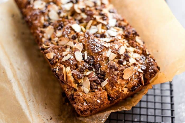 Tasty Orange Almond Scone Loaf Bread