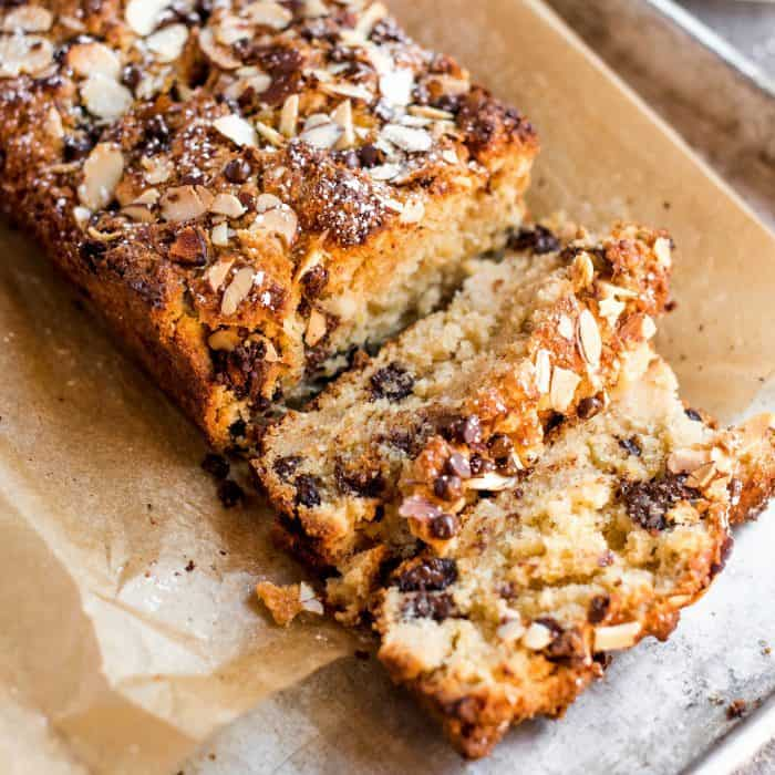 So good Orange Almond Scone Loaf Bread