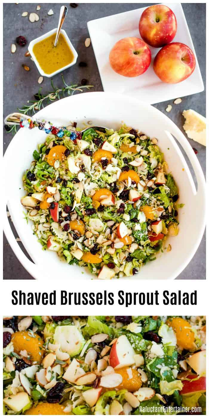Shaved Brussels Sprout Salad with Vinaigrette Recipe