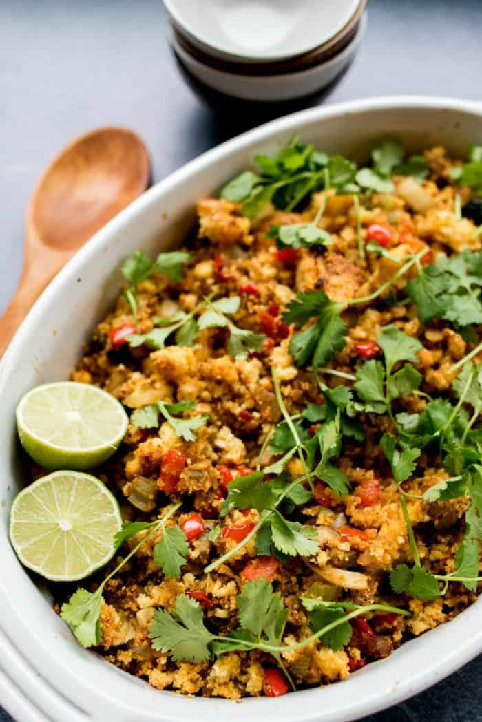 Vegetarian Mexican Stuffing