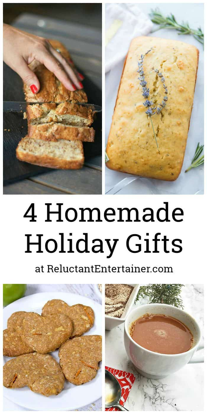 4 Homemade Holiday Gifts Collection