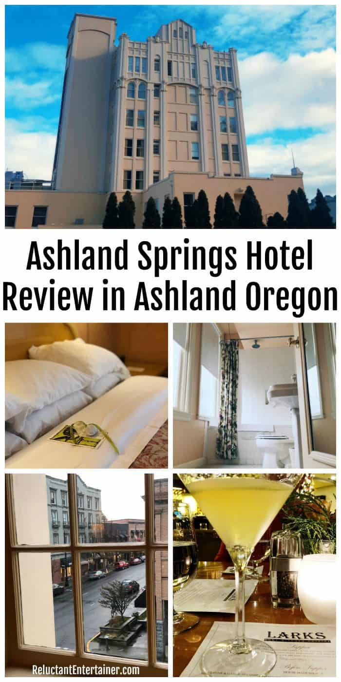 Ashland Springs Hotel Review in Ashland Oregon