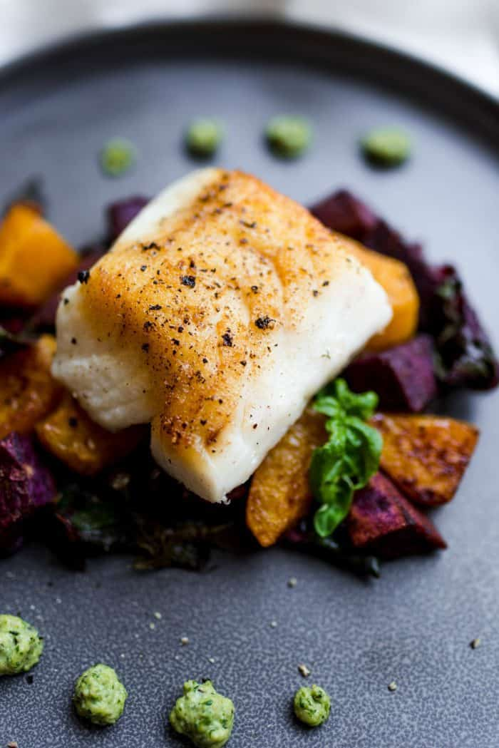 Seared Cod Fillets
