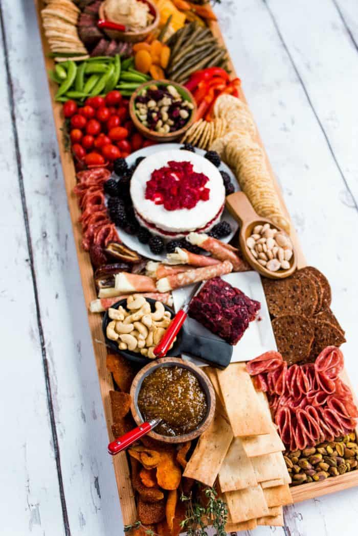 Easy Epic Rectangular Charcuterie Board