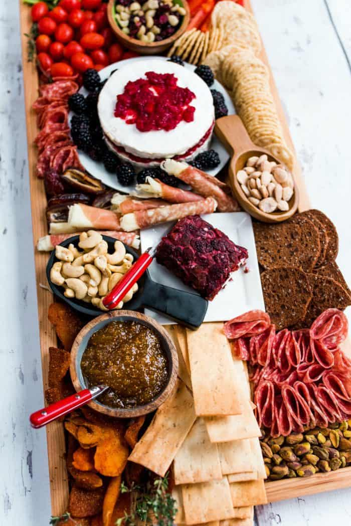 Epic Rectangular Charcuterie Board - list