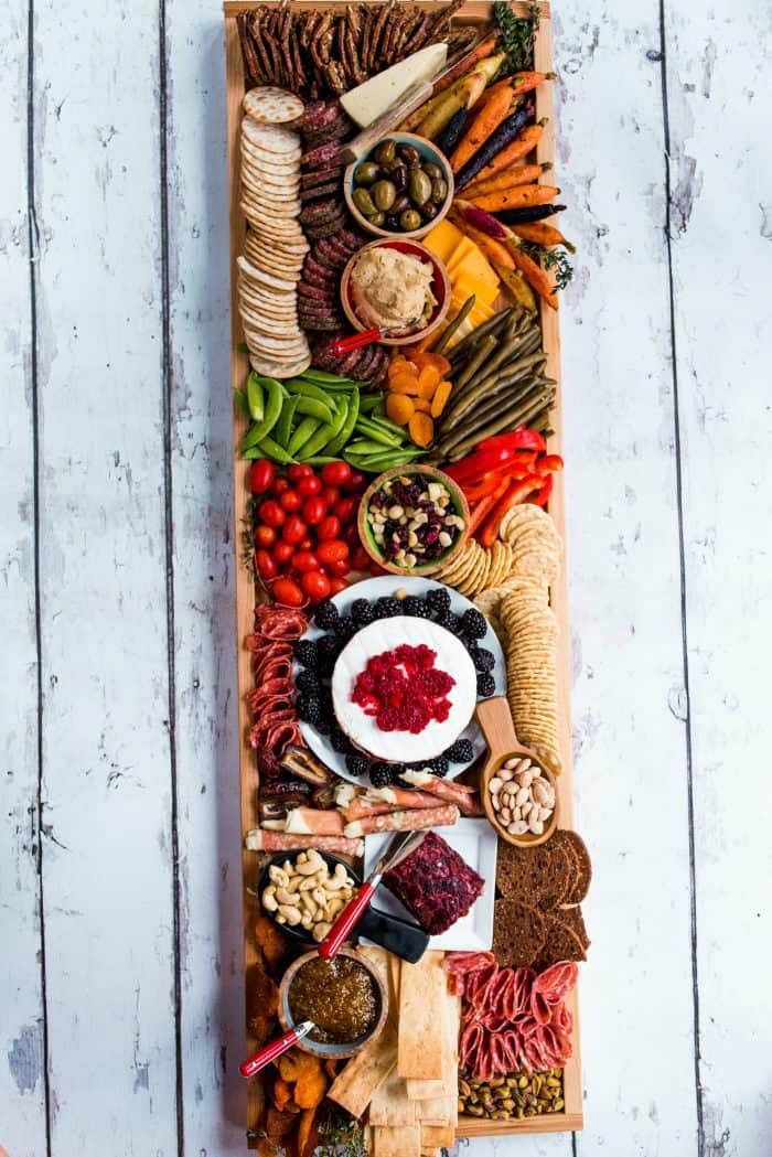 Epic Rectangular Charcuterie Board