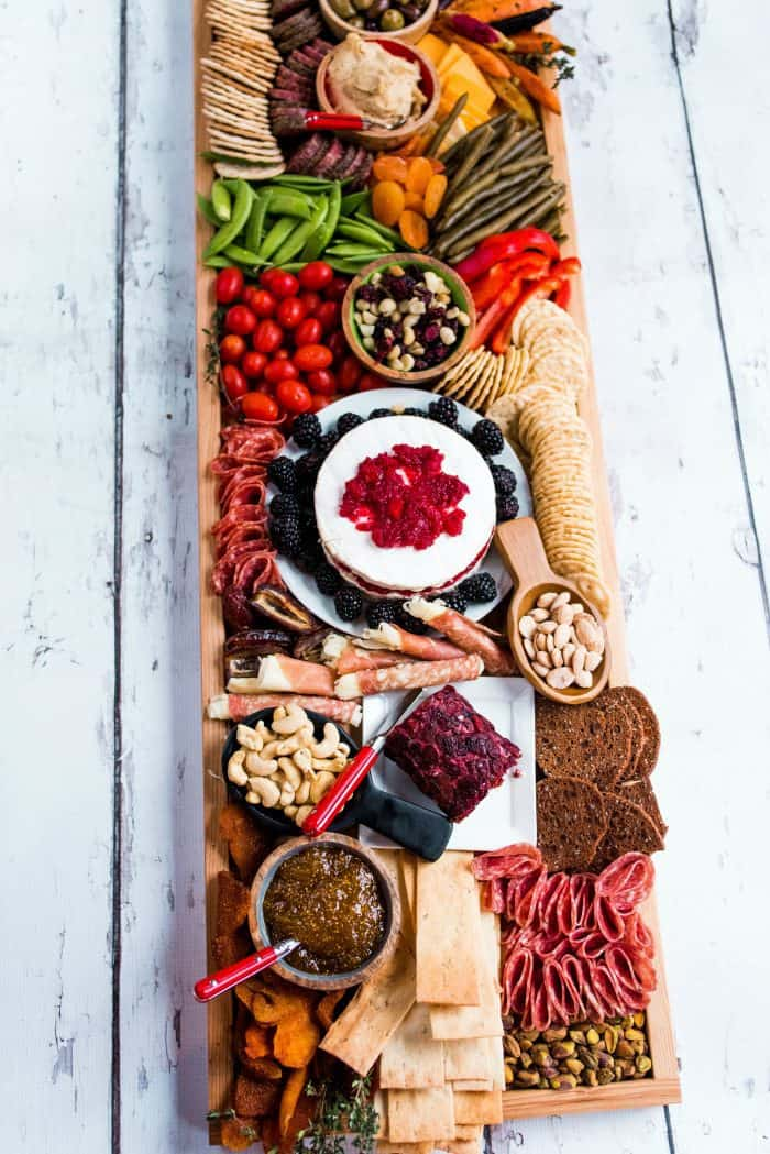 Epic Rectangular Charcuterie Board - shopping list