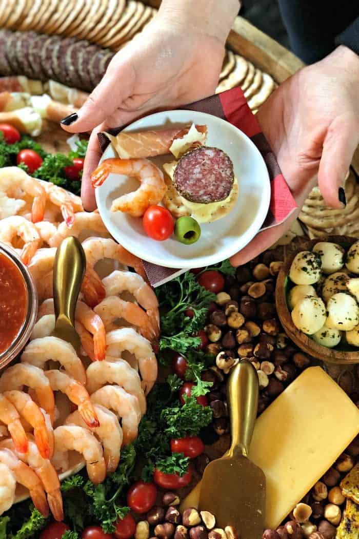 Party Epic Shrimp Cocktail Charcuterie Board