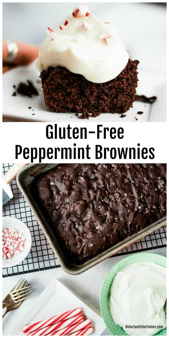 Gluten Free Peppermint Brownies Recipe