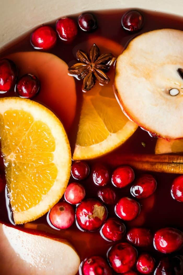 Favorite Holiday Pear Mulled Wine Recipe