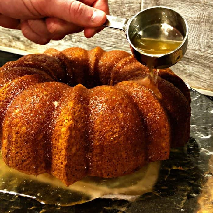 Holiday Rum Bundt Cake Recipe