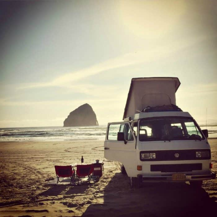 VW Westfalia - beach