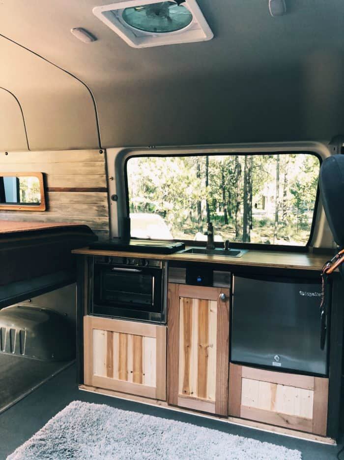 VW Westfalia to Mercedes Sprinter Van Conversion