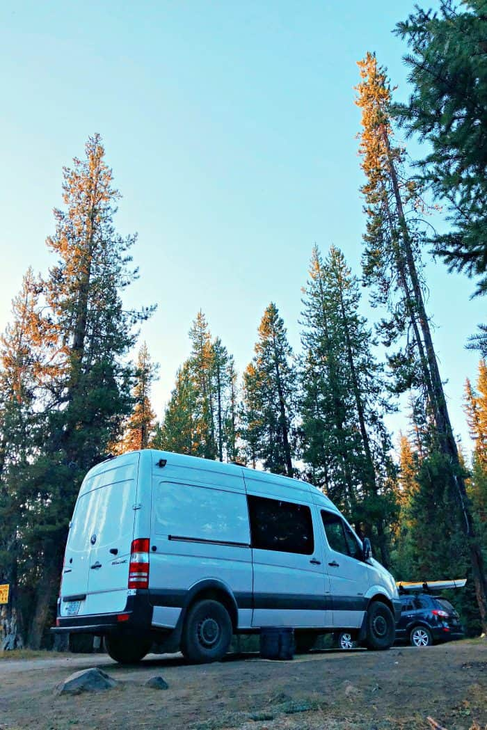 VW Westfalia to Mercedes Sprinter Van Conversion - camping