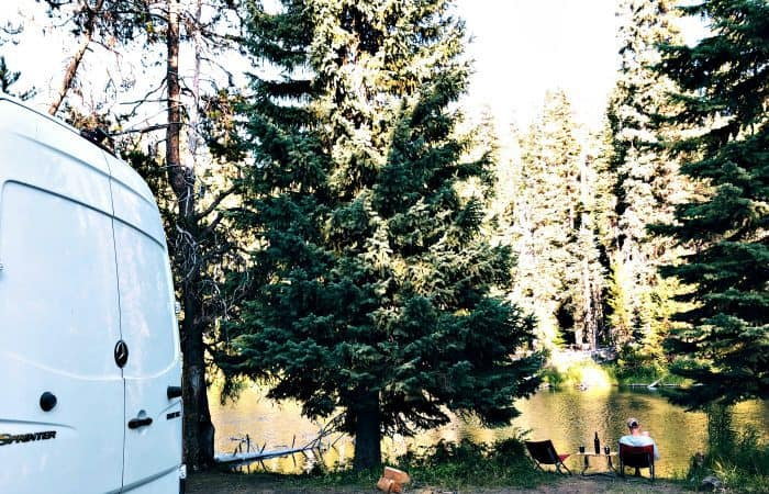 VW Westfalia to Mercedes Sprinter Van Conversion - Deschutes River