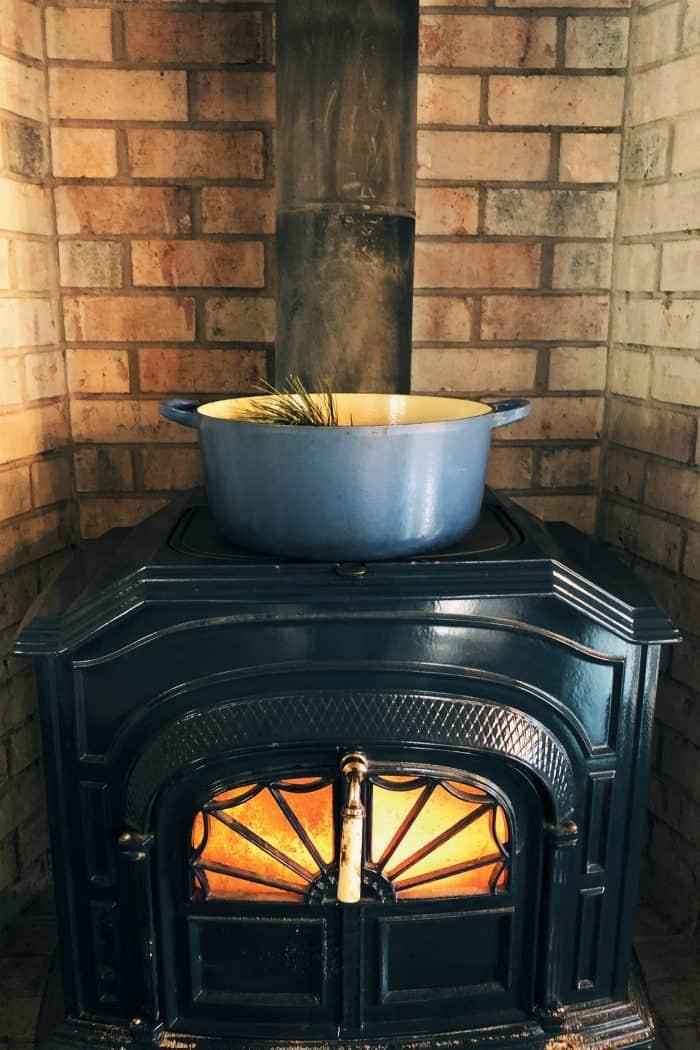 Stove-top Yuletide Potpourri Recipe - Silver Castings stove