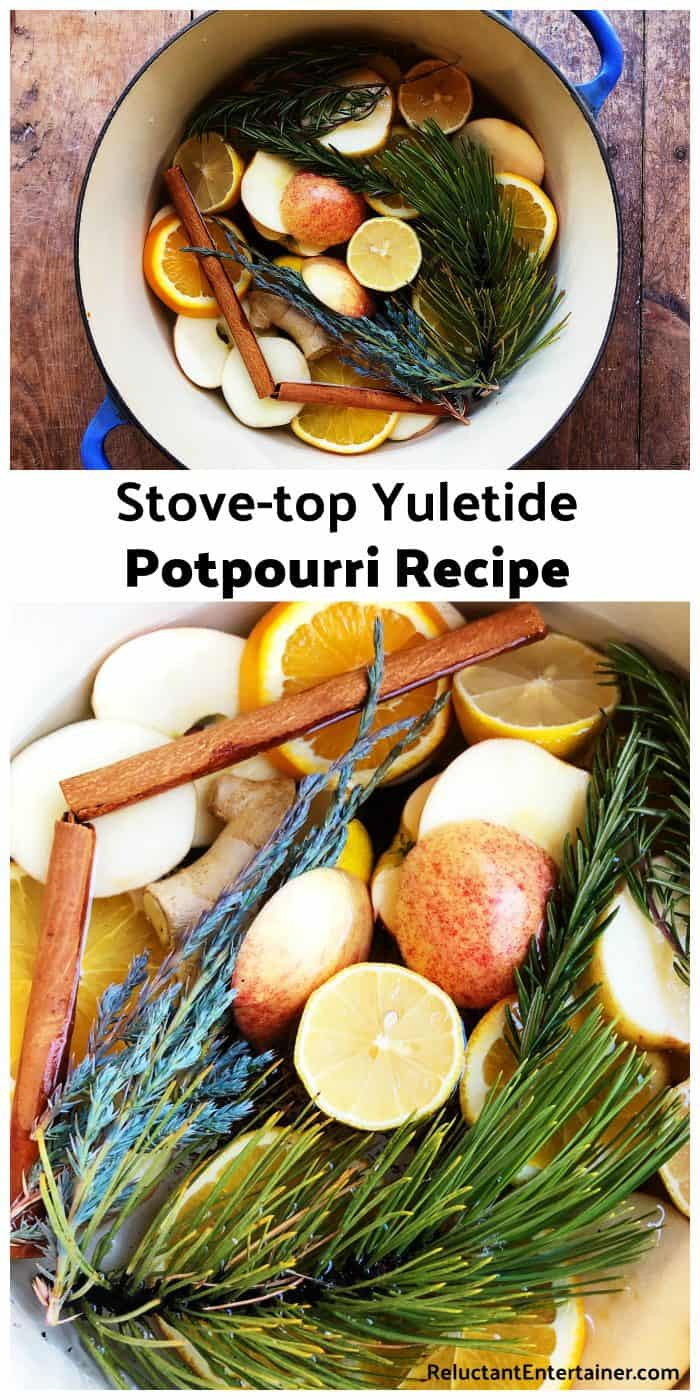 Stove-top Yuletide Potpourri