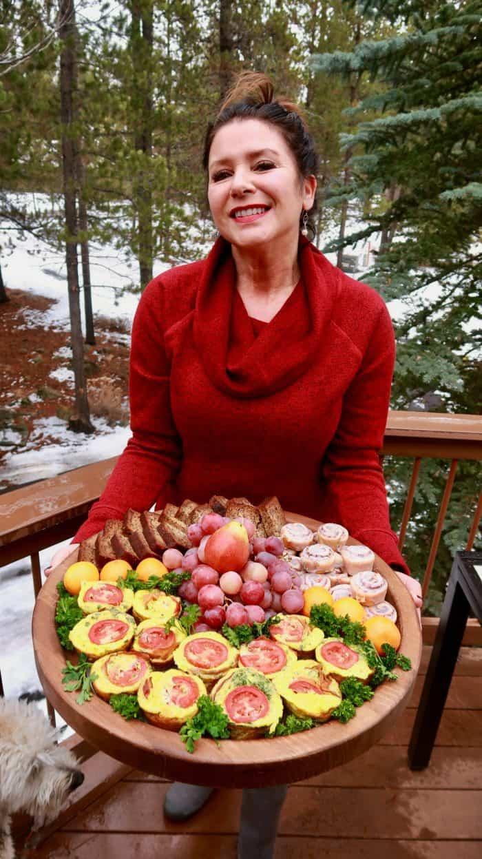 EASY Bacon Egg Breakfast Board Muffins