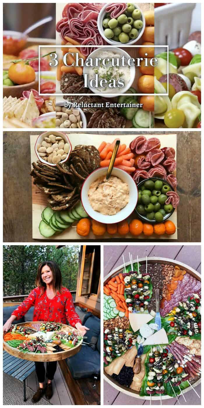 Easy 3 Charcuterie Ideas for weekend hosting