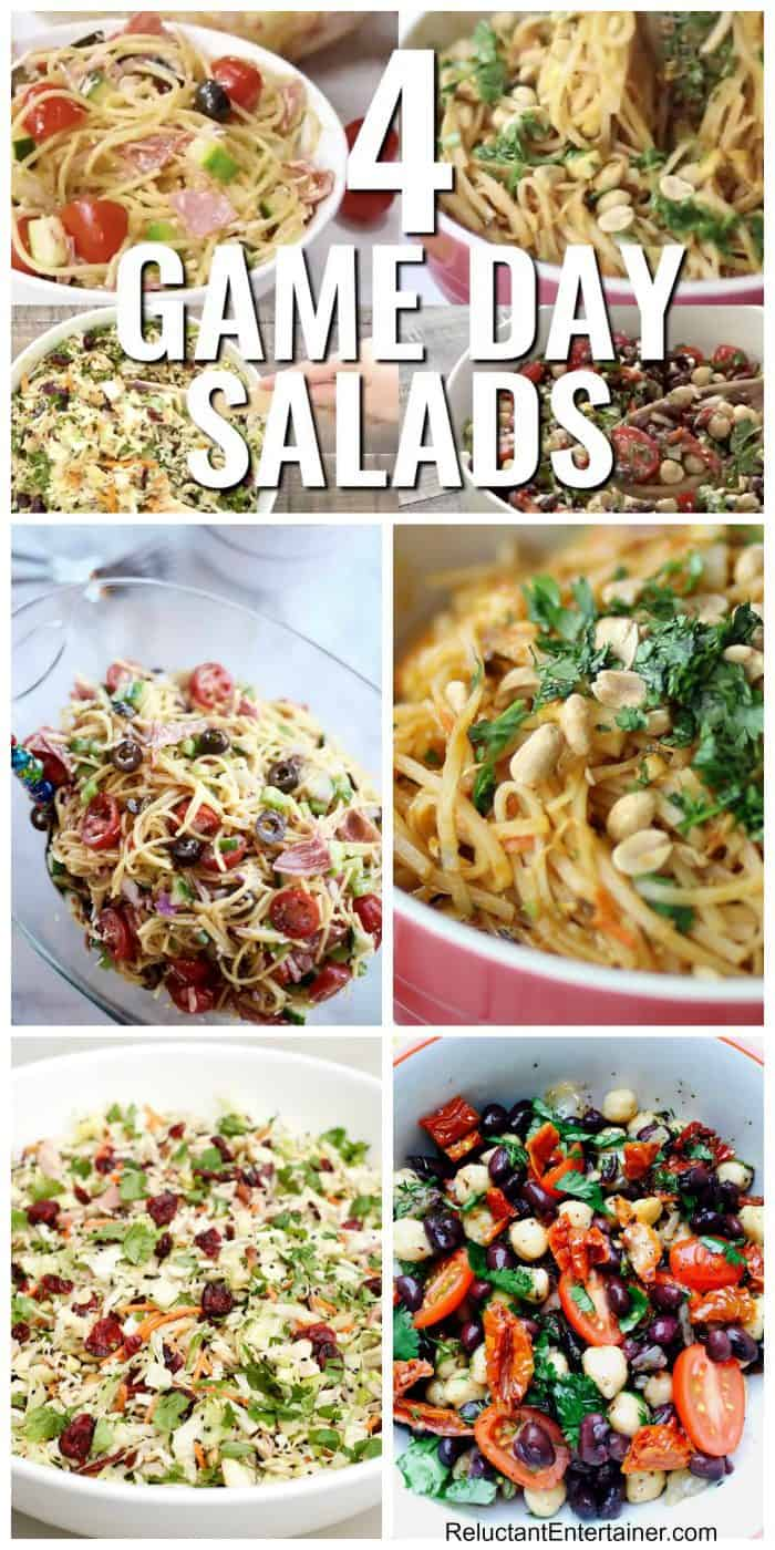 4 Game Day Salads