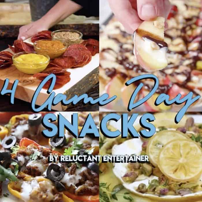 4 Game Day Snack Recipes