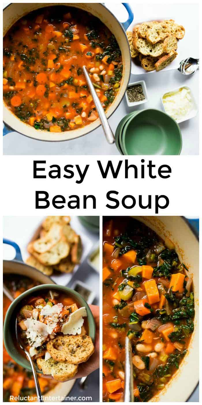Easy White Bean Soup Recipe