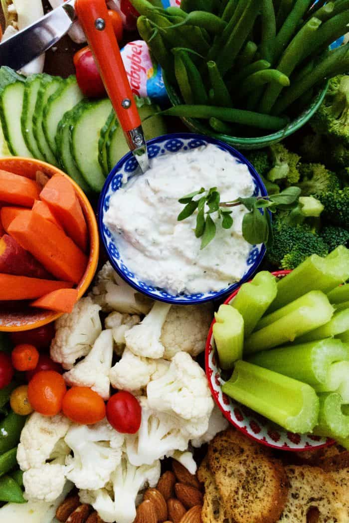 Healthy Cheese Board Recipe - dip