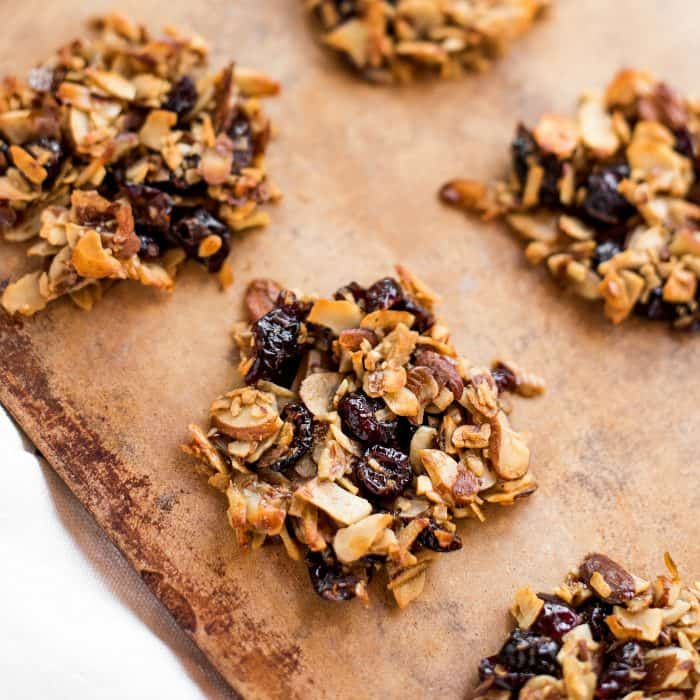 BEST BITE Simple Almond Cranberry Crunch Cookies