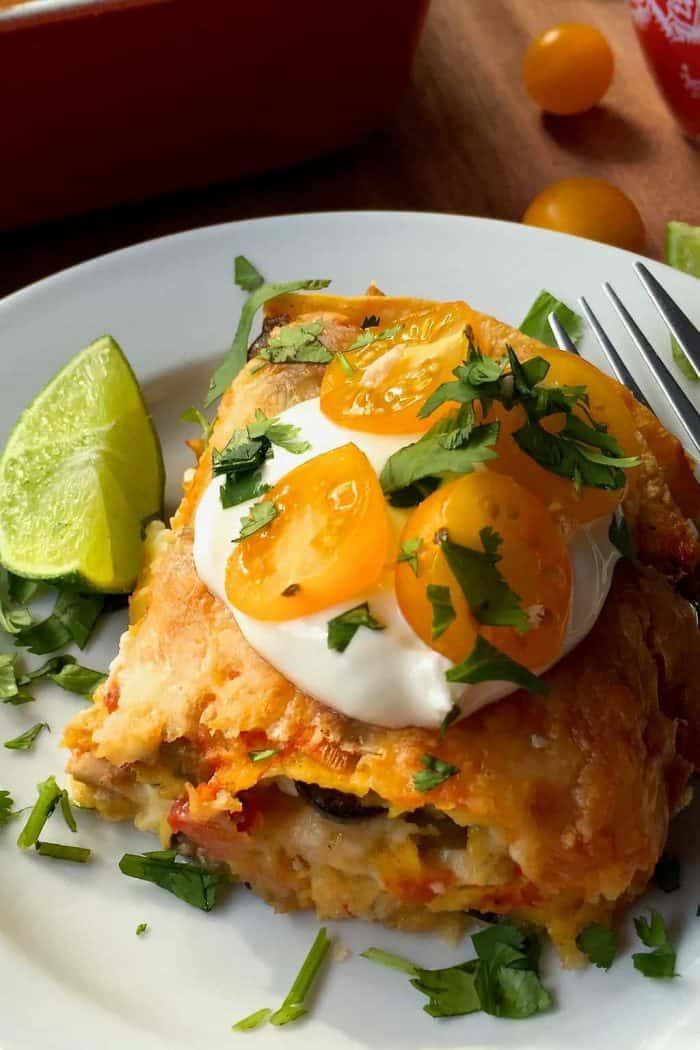 4 Most Popular Chicken Recipes - Tortilla Chicken Pie