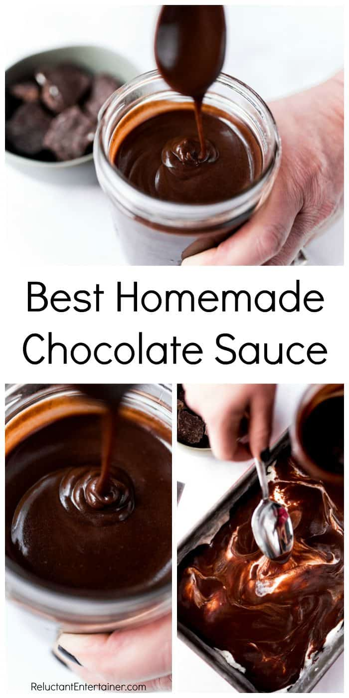 BEST Homemade Chocolate Sauce Recipe