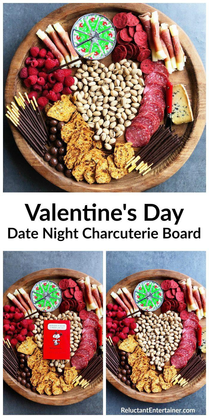 Valentine's Day Date Night Charcuterie Board Recipe